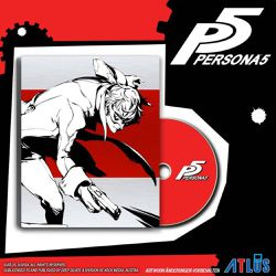 Persona 5 - Steelbook Launch Edition PS4 - Deep Silver - Shopsquare