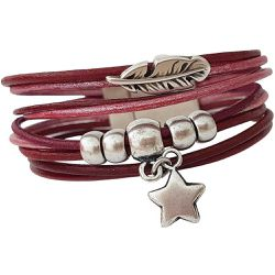 Bracelet en cuir - SECRETS DES ANGES - Shopsquare