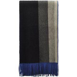 Echarpe en Laine King Noir - Bleu - TOUTACOO - Shopsquare 5db09b86b82