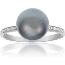 Bague Or 375/1000 Perle - CLEOR - Shopsquare