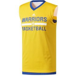 Maillot Basket Entraînement Réversible Golden State Warriors /Bleu - adidas Performance - Shopsquare