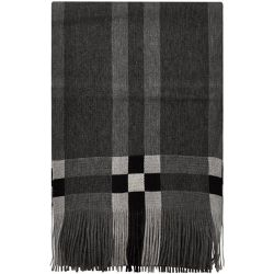 Echarpe en Laine Cube Noir-Blanc - TOUTACOO - Shopsquare 1046f862b81