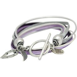 Bracelet en cuir LAUREN - SECRETS DES ANGES - Shopsquare