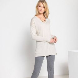 Pull-tunique, 10% laine - Anne weyburn - Shopsquare