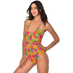 Maillot de bain 1 pièce triangle floral Killani - banana moon - Shopsquare