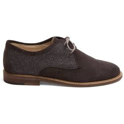 Derbies en veau-velours Eugénie - M. MOUSTACHE - Shopsquare