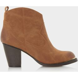 Bottines style western avec détail métallique - PAITYN - HEAD OVER HEELS BY DUNE - Shopsquare
