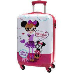 Grande valise coque rigide Minnie - JOUCEO - Shopsquare