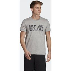 T-shirt Pay Me Double - adidas Performance - Shopsquare