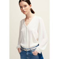 Top fluide col V - Claudie Pierlot - Shopsquare
