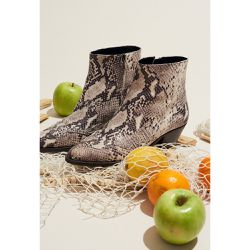 Boots imitation serpent - Claudie Pierlot - Shopsquare