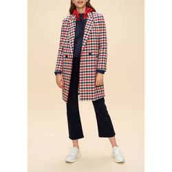 Manteau carreaux double boutonnage - Claudie Pierlot - Shopsquare