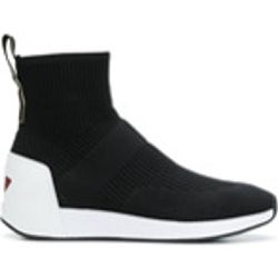Ankle sock sneakers - Ash - Shopsquare