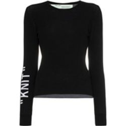 "Pull ""Knit"" - Off-White - Shopsquare"