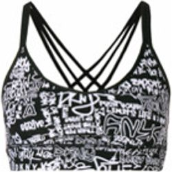 Logo sports bra top - DKNY - Shopsquare