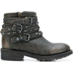 Buckled ankle boots - Ash - Shopsquare