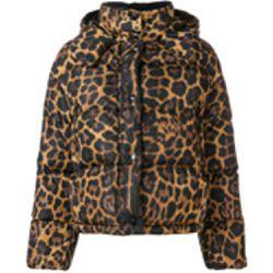 1efb62b54d4 Doudoune à imprimé léopard - Moncler - Shopsquare