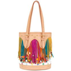 Fringed monogram bucket bag - LOUIS VUITTON PRE-OWNED - Shopsquare