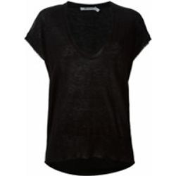 T-shirt à bords francs - alexander wang - Shopsquare