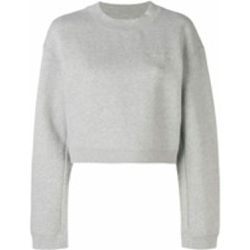 Sweat crop à logo imprimé - alexander wang - Shopsquare