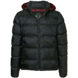 Padded hooded jacket - Moose Knuckles - Shopsquare