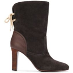 Bottines en daim et cuir - See By Chloé - Shopsquare