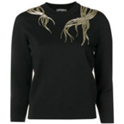 Embroidered jumper - alexander mcqueen - Shopsquare