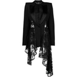 Waterfall lace blazer - alexander mcqueen - Shopsquare