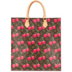 Limited edition cherry monogram tote bag - Louis Vuitton Pre-Owned - Shopsquare
