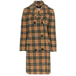 Manteau texturé à carreaux - Burberry - Shopsquare