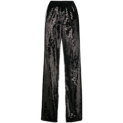 Sequin side striped track pants - alberta ferretti - Shopsquare