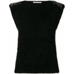 Embellished knitted top - alberta ferretti - Shopsquare