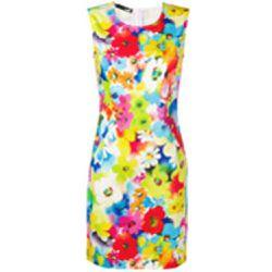 1a0b9a3d5 Robe courte à fleurs - Love Moschino - Shopsquare