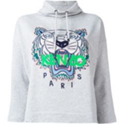 Sweat à capuche crop Tiger - Kenzo - Shopsquare