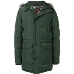 Hooded quilted coat - Moose Knuckles - Shopsquare