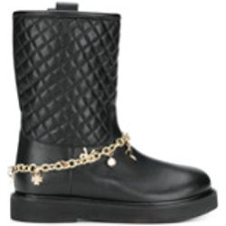 Quilted biker boots - Twin-Set - Shopsquare