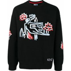 Sweat à broderies devant - Kenzo - Shopsquare