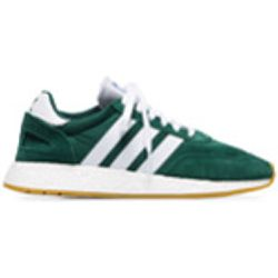 Green and white I-5923 mesh and suede leather sneakers - Adidas - Shopsquare