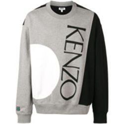 Sweat à logo et design patchwork - Kenzo - Shopsquare