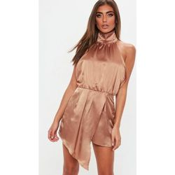 Satin col haut - Missguided - Shopsquare