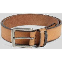 Ceinture cuir large rivet Marron - Jules - Shopsquare
