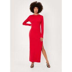 Ribbed Long Sleeved Bodycon Maxi Dress - Nasty Gal - Modalova