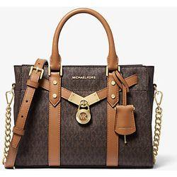 MK Petit sac porté main Nouveau Hamilton en cuir à logo - - Michael Kors - MICHAEL Michael Kors - Modalova
