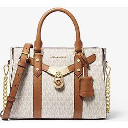 MK Petit sac porté main Nouveau Hamilton en cuir à logo - / - Michael Kors - MICHAEL Michael Kors - Modalova