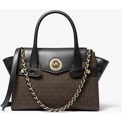 MK Petit sac porté main Carmen en cuir à ceinture et logo - /NOIR() - Michael Kors - MICHAEL Michael Kors - Modalova