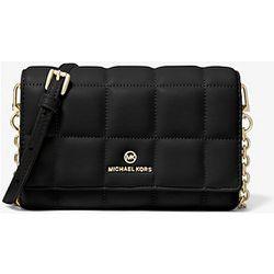 MK Petit sac à bandoulière pour smartphone en cuir matelassé - - Michael Kors - MICHAEL Michael Kors - Modalova