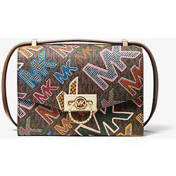 MK Très petit sac à bandoulière Hendrix à logo graphique - - Michael Kors - MICHAEL Michael Kors - Modalova