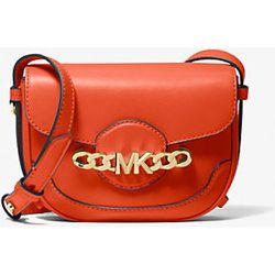 MK Très petit sac à bandoulière Hally en cuir travaillé - - Michael Kors - MICHAEL Michael Kors - Modalova