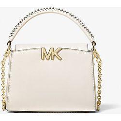 MK Petit sac à bandoulière Karlie en cuir - CRÈME CLAIRE(NATUREL) - Michael Kors - MICHAEL Michael Kors - Modalova