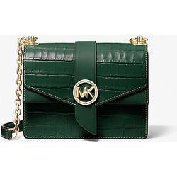 MK Petit sac à bandoulière Greenwich en cuir effet crocodile en relief - - Michael Kors - MICHAEL Michael Kors - Modalova